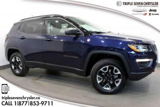Used 2018 Jeep Compass 4x4 Trailhawk PANO SUNROOF - NAVIGATION for sale in Regina, SK