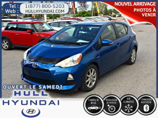 Used 2012 Toyota Prius c Cruise, Bluetooth for sale in Gatineau, QC