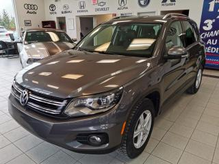 Used 2013 Volkswagen Tiguan TRENDLINE  / CUIR / TOIT PANORAMIQUE for sale in Sherbrooke, QC