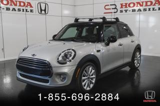 Used 2016 MINI Cooper 5 PORTES + TOIT PANO + CUIR + GARANTIE ! for sale in St-Basile-le-Grand, QC