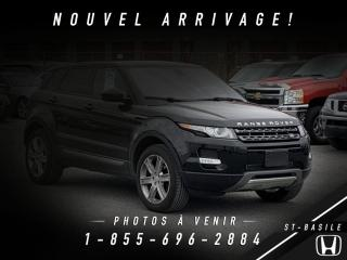 Used 2015 Land Rover Evoque PURE CITY + NAVI + PANO + MERIDIAN for sale in St-Basile-le-Grand, QC