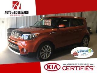 Used 2017 Kia Soul EX ORANGE BAS KILO 1 SEUL PROPRIO for sale in Notre-Dame-des-Pins, QC
