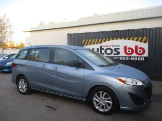 Used 2012 Mazda MAZDA5 ( 104 000 KM - 6 PASSAGERS ) for sale in Laval, QC