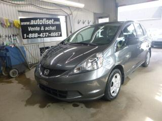 Used 2014 Honda Fit DX for sale in St-Raymond, QC