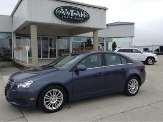 Used 2014 Chevrolet Cruze GREAT ON GAS / NO PAYMENTS FOR for sale in Tilbury, ON