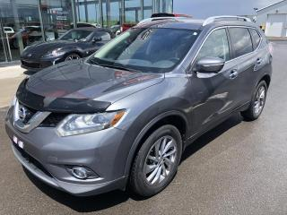 Used 2015 Nissan Rogue SL, AWD, CUIR, GPS, 1.9% for sale in Lévis, QC