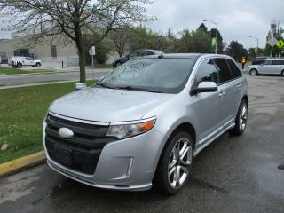 Used 2011 Ford Edge Sport~AWD~NAV.~LEATHER~ALL POWER OPTIONS~ for sale in Toronto, ON
