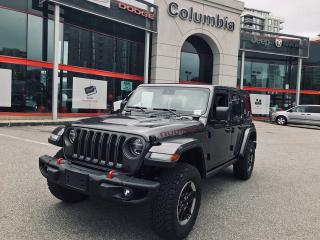 New 2019 Jeep Wrangler Unlimited RUBI for sale in Richmond, BC