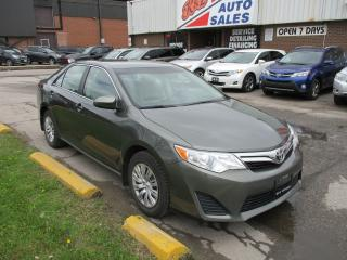Used 2013 Toyota Camry LE~TWO SETS OF TIRES~BLUETOOTH~BACK-UP CAM.~ for sale in Toronto, ON