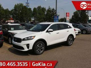 New 2019 Kia Sorento EX V6; AWD, LEATHER, PUSH START, 7 PASS, HEATED SEATS/WHEEL, BACKUP CAMERA, BLIND-SPOT/CROSS TRAFFIC ALERT, ANDROID AUTO/APPLE CAR PLAY for sale in Edmonton, AB