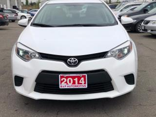 Used 2014 Toyota Corolla LE for sale in Mississauga, ON