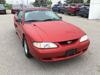 Used 1996 Ford Mustang Convertible | Cruise Control for sale in Harriston, ON