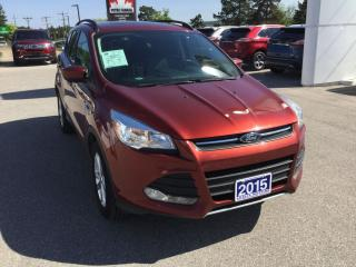 Used 2015 Ford Escape SE   4WD   Accident Free   Bluetooth for sale in Harriston, ON