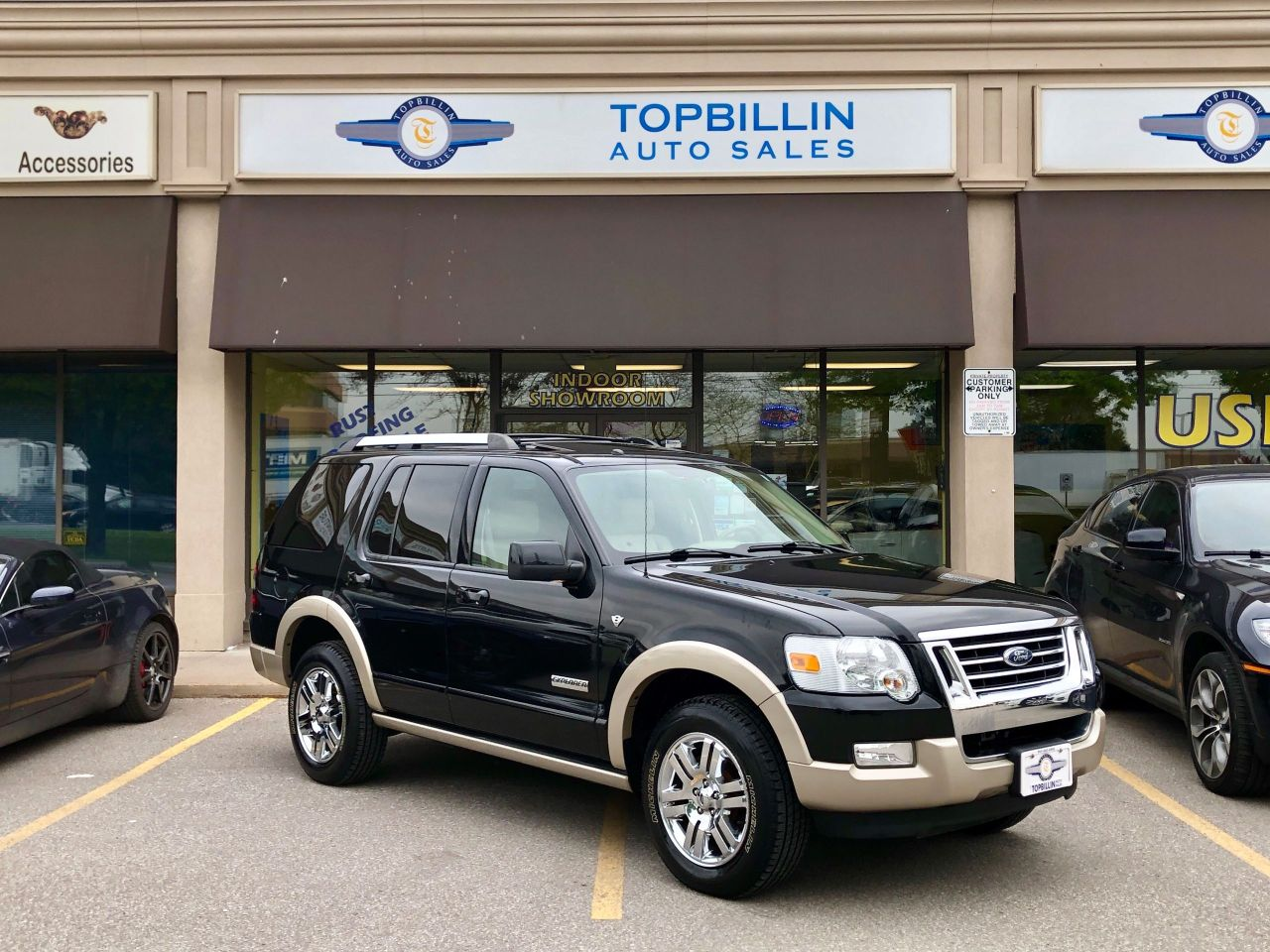 2007 Ford Explorer Eddie Bauer, Extra Clean, Leather Roof