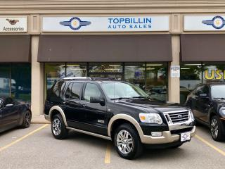 Used 2007 Ford Explorer Eddie Bauer, Extra Clean, Leather Roof for sale in Vaughan, ON