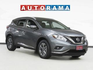 Used 2016 Nissan Murano Platinum Pkg Navigation Sunroof Backup Cam Leather for sale in Toronto, ON
