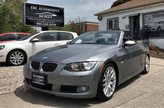 Used 2007 BMW 328i 328I CONVERTIBLE CABRIOLET MANUAL LEATHER for sale in Mississauga, ON