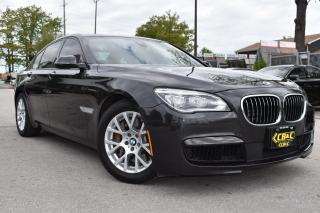 Used 2013 BMW 7 Series 750i xDrive -M PACKAGE- NIGHTVISION - LANE ASSIST for sale in Oakville, ON