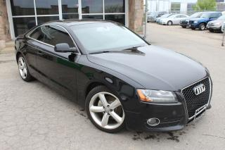 Used 2011 Audi A5 2.0L Premium MANUAL|LEATHER|SUNROOF for sale in Mississauga, ON