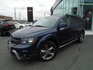 Used 2017 Dodge Journey Crossroad AWD LEATHER for sale in Halifax, NS