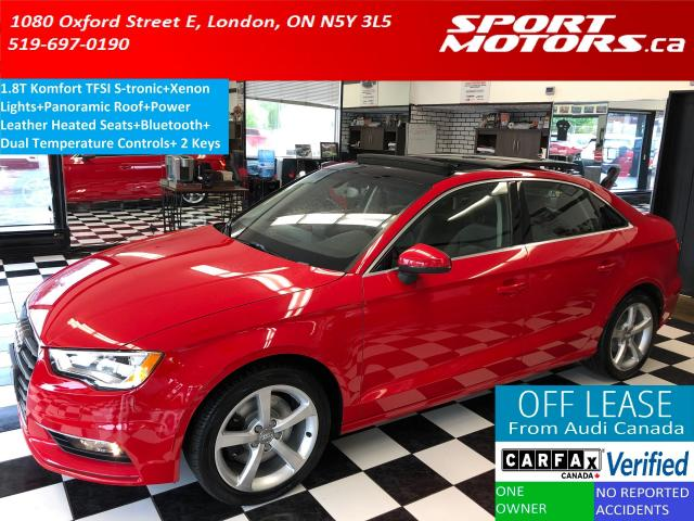2015 Audi A3 1.8T TFSI S-tronic+Heated Seats+Bluetooth+Xenons