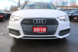 Used 2018 Audi A4 Komfort ACCIDENT FREE for sale in Brampton, ON