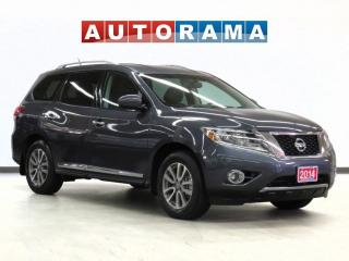Used 2014 Nissan Pathfinder SL AWD NAVIGATION LEATHER SUNROOF 7-PASSENGER for sale in Toronto, ON