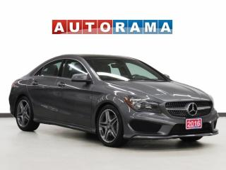 Used 2016 Mercedes-Benz CLA250 CLA-250 4MATIC NAVIGATION LEATHER SUNROOF for sale in Toronto, ON