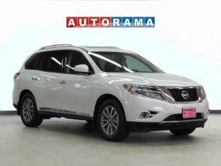 Used 2015 Nissan Pathfinder SL AWD Navigation Leather Pano-Sunroof 7-Passenger for sale in Toronto, ON