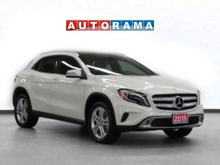Used 2015 Mercedes-Benz GLA GLA-250 4MATIC NAVIGATION LEATHER SUNROOF for sale in Toronto, ON