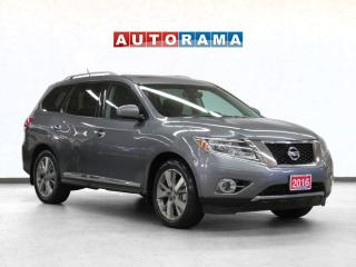 Used 2016 Nissan Pathfinder Platinum 4WD Navigation Leather Sunroof 7-Seater for sale in Toronto, ON