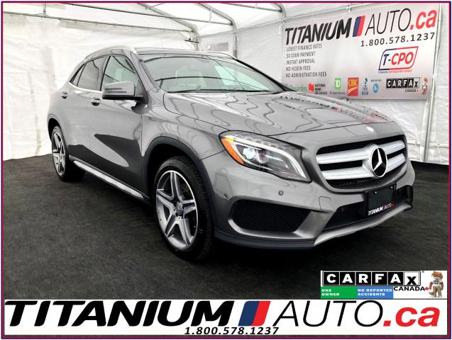 2015 Mercedes-Benz GLA 4Matic+Camera+GPS+Pano Roof+Blind Spot+Park Sensor