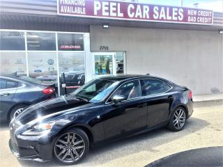 Used 2016 Lexus IS 300 AWD|REDLEATHER|SUNROOF|REARVIEW for sale in Mississauga, ON