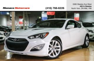 Used 2013 Hyundai Genesis Coupe 2.0T - TURBO|SUNROOF|NAVIGATION|HEATED SEATS for sale in North York, ON