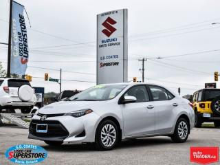 Used 2017 Toyota Corolla LE ~Heated Seats ~Backup Cam ~Bluetooth for sale in Barrie, ON