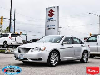 Used 2012 Chrysler 200 Limited ~283 HP 3.6L V6 ~Heated Leather ~Moonroof for sale in Barrie, ON