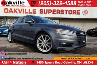Used 2015 Audi A3 1.8T PROGRESSIV | NAVI | LEATHER | SUNROOF | BT for sale in Oakville, ON