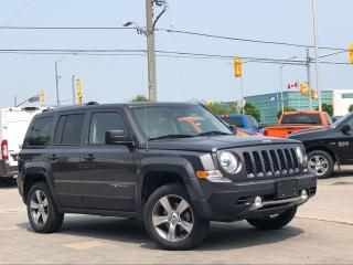 Used 2017 Jeep Patriot High Altitude**4X4**6.5 Screen**Leather**Sunroof for sale in Mississauga, ON