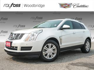 Used 2015 Cadillac SRX Luxury SUNROOF, NAV, BOSE, HEATED SEATS for sale in Woodbridge, ON