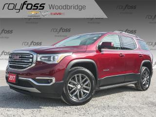 Used 2017 GMC Acadia SLT-1 7-PASS, NAV, BOSE, AWD for sale in Woodbridge, ON
