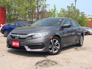 Used 2016 Honda Civic LX, very low kilometers for sale in Toronto, ON
