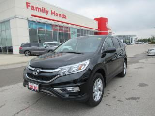 Used 2016 Honda CR-V EX-L, Extended Comprehensive Warranty! for sale in Brampton, ON