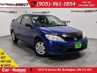 Used 2004 Honda Civic SE| AS-TRADED| OPEN SUNDAYS| for sale in Burlington, ON