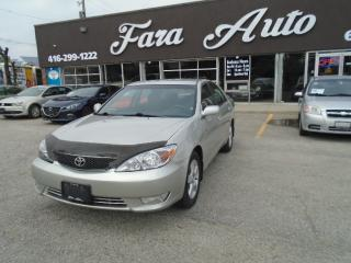 Used 2005 Toyota Camry Auto SE for sale in Scarborough, ON