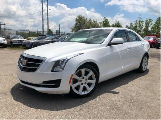 Used 2015 Cadillac ATS 2.0L Turbo AWD| Bluetooth | Alloys for sale in St Catharines, ON