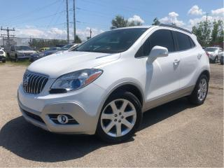 Used 2015 Buick Encore Premium | New Tires| AWD| Leather | Sunroof for sale in St Catharines, ON