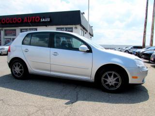 Used 2007 Volkswagen Rabbit Hatchback 5 Speed Manual Certified 2 YR Warranty for sale in Milton, ON