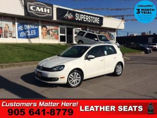 Used 2011 Volkswagen Golf 2.0 TDI Highline  1-OWNER DIESEL AUTO LEATH ROOF for sale in St. Catharines, ON