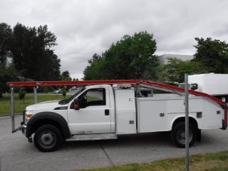 Used 2011 Ford F-550 Regular Cab Dually  2WD Car hauler service truck for sale in Burnaby, BC