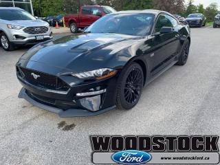 New 2019 Ford Mustang GT Premium Fastback  - Leather Seats for sale in Woodstock, ON